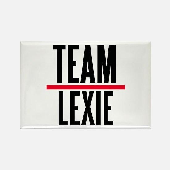 Team Lexie Grey's Anatomy Rectangle Magnet