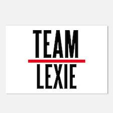 Team Lexie Grey's Anatomy Postcards (Package of 8)