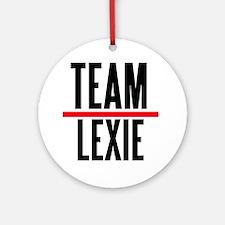 Team Lexie Grey's Anatomy Ornament (Round)