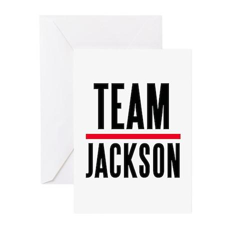 Team Jackson Greeting Cards (Pk of 10)