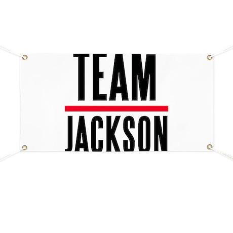 Team Jackson Banner