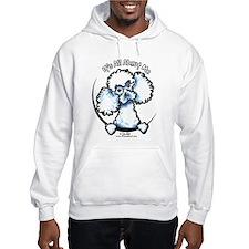 White Poodle IAAM Hoodie