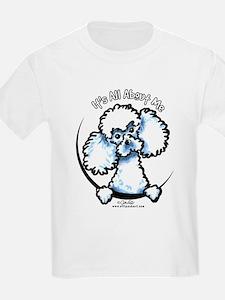 White Poodle IAAM T-Shirt