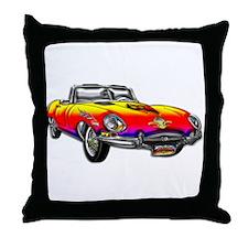 Convertible Sunrise Sports Ca Throw Pillow