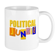 political junkie Mug