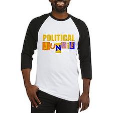 political junkie Baseball Jersey