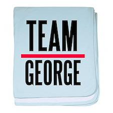Team George Grey's Anatomy baby blanket