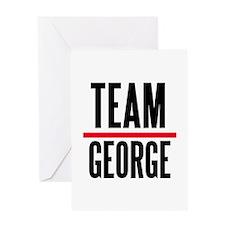 Team George Grey's Anatomy Greeting Card