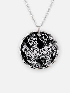 vintage japanese tiger Necklace