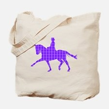 Extended Trot Dressage Tote Bag