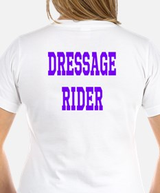Dressage Rider - Extended Trot Lady's V-Neck Tee