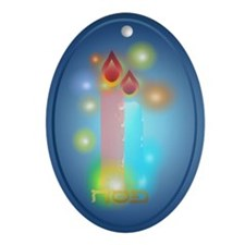 Lights Ornament (Oval)