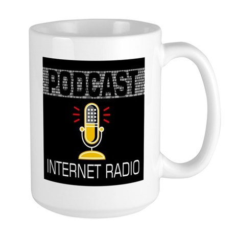 Large Mug For Podcasters