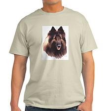 Tervuren Headstudy Ash Grey T-Shirt