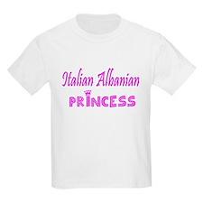Italian Albanian Princess T-Shirt