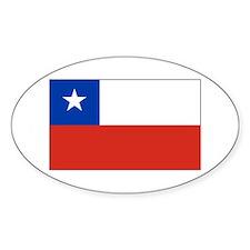 Chilean Flag Decal