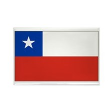 Chilean Flag Rectangle Magnet