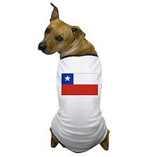 Chilean Flag Dog T-Shirt
