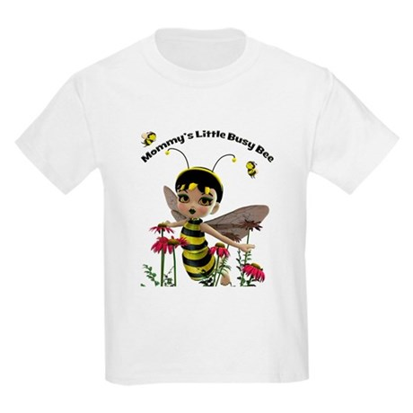 Mommy's Little Busy Bee Kids Light T-Shirt
