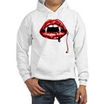 Vampire Fangs Hooded Sweatshirt