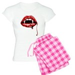 Vampire Fangs Women's Light Pajamas