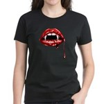 Vampire Fangs Women's Dark T-Shirt