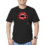 Vampire Fangs Men's Fitted T-Shirt (dark)