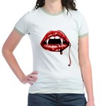 Vampire Fangs Jr. Ringer T-Shirt