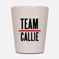 Team Callie Grey's Anatomy Shot Glass