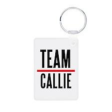 Team Callie Grey's Anatomy Keychains
