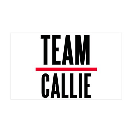 Team Callie Grey's Anatomy 38.5 x 24.5 Wall Peel