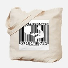 Digital Scrapper Barcode Tote Bag
