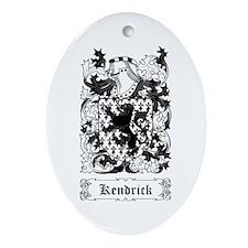 Kendrick Ornament (Oval)
