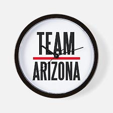 Team Arizona Grey's Anatomy Wall Clock