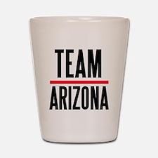 Team Arizona Grey's Anatomy Shot Glass