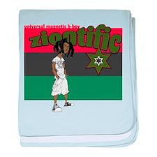 B-Boy Black Flag baby blanket