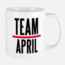 Team April Grey's Anatomy Mug