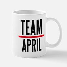 Team April Grey's Anatomy Small Small Mug