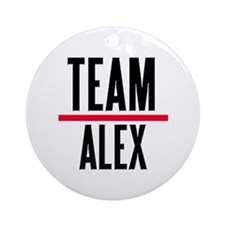 Team Alex Grey's Anatomy Ornament (Round)