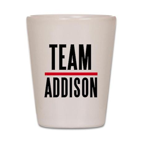 Team Addison Grey's Anatomy Shot Glass