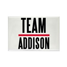 Team Addison Grey's Anatomy Rectangle Magnet