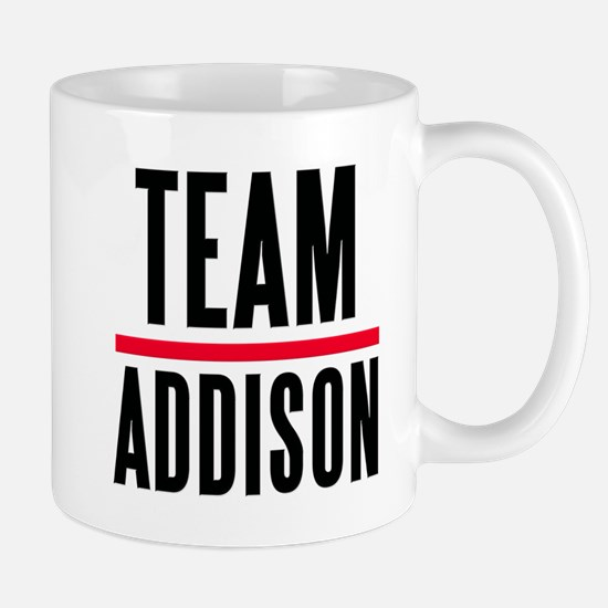 Team Addison Grey's Anatomy Mug