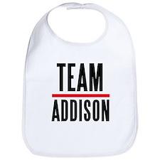 Team Addison Grey's Anatomy Bib