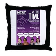 My First Time - 2011 Throw Pillow