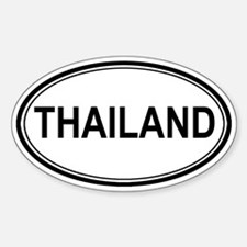 Thailand Euro Oval Decal