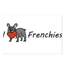 I <3 Frenchies Postcards (Package of 8)