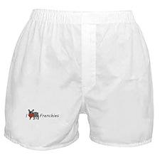 I <3 Frenchies Boxer Shorts