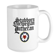 Stubborn Norwegian Lutheran Coffee Mug