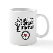 Stubborn Norwegian Lutheran Small Mug