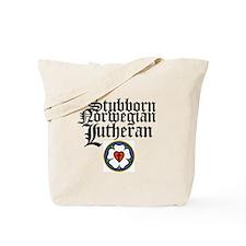 Stubborn Norwegian Lutheran Tote Bag